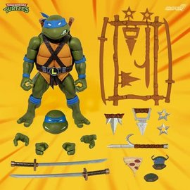 """Super 7 Teenage Mutant Ninja Turtles: Leonardo Ultimates 7"""" Figure (preorder)"""