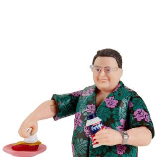 Mattel Jurassic Park: Barbasol Dennis Nedry Action Figure - 2020 Convention Exclusive