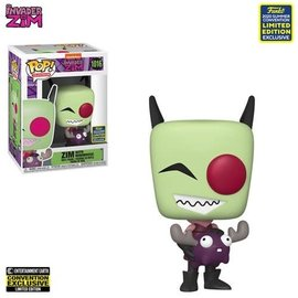 Funko Invader Zim: Zim with Minimoose Entertainment Earth Exclusive Funko POP! #1016