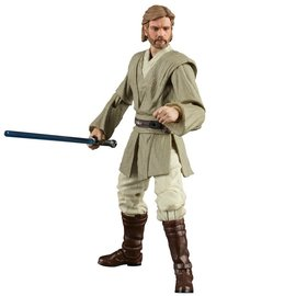 "Hasbro Star Wars Black Series: Obi-Wan Kenobi (AOTC) 6"" Action Figure"