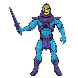 Super 7 Masters of the Universe: Skeletor Paper People