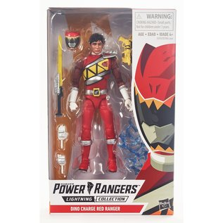 "Hasbro Power Rangers Lightning Collection: Dino Charge Red Ranger 6"" Figure"