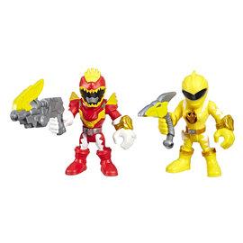 Hasbro Playskool Heroes Power Rangers: Red Ranger and Yellow Ranger