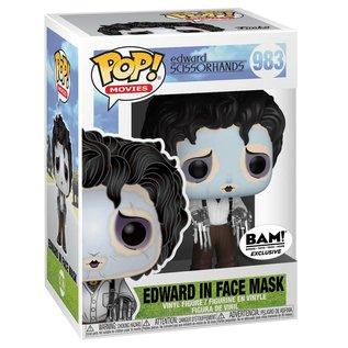 Funko Edward Scissorhands: Edward Scissorhands with Purple Face BAM! Exclusive Funko POP! #