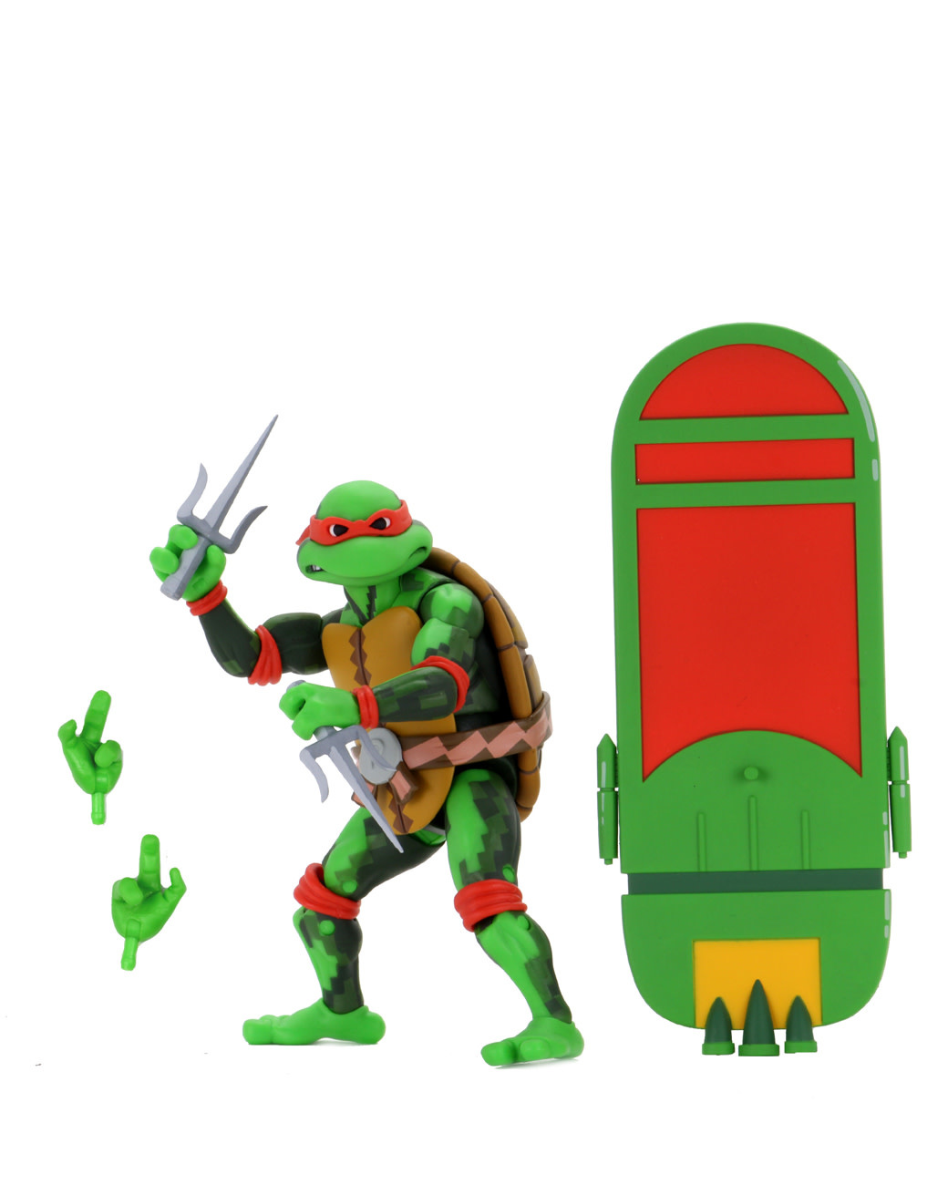 NECA Turtles in Time: Raphael Figure (Wave 2)
