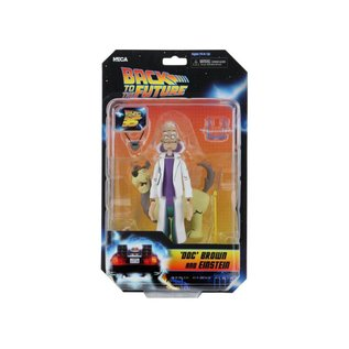 NECA Back to the Future: 'Doc' Brown and Einstein Toony Classics