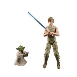 Hasbro Star Wars The Black Series: Luke Skywalker and Yoda (Jedi Training) 6-Inch Action Figures