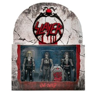 Super 7 Slayer ReAction Figure - Live Undead (3-Pack) (Slayer ReAction - Live