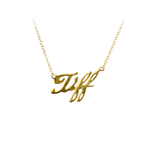 Trick or Treat Studios Bride of Chucky: Tiffany Gold Pendant with Necklace