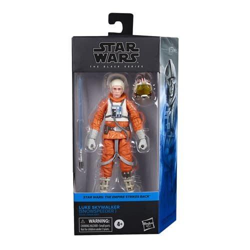 "Hasbro Star Wars Black Series: Luke Skywalker (Snowspeeder) 6"" Figures"