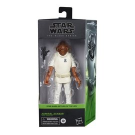 "Hasbro Star Wars Black Series: Admiral Ackbar 6"" Figure"
