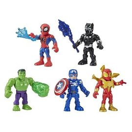 Hasbro Marvel Super Hero Adventures: 5-Inch Action Figure 5-Pack