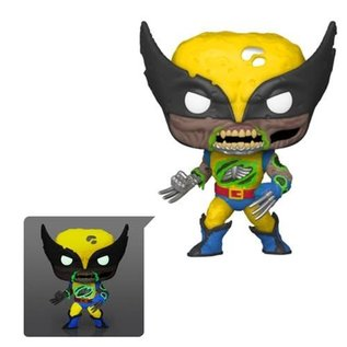 Funko Marvel Zombies: Wolverine Glow in the Dark Entertainment Exclusive Funko POP!