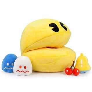 "Kidrobot Pac-Man: Pac-Man 15"" Plush with Sound and Mini Plush Inside"