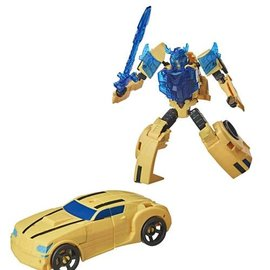 Hasbro Transformers Cyberverse Battle Call Trooper Bumblebee