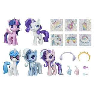 Hasbro My Little Pony: Unicorn Sparkle Collection Set Mini-Figures
