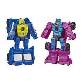 """Hasbro Transformers """"War for Cybertron"""" Earthrise: Micromasters Race Track Patrol Roller Force and Ground Hog"""