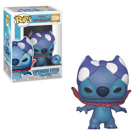 Funko Lilo and Stitch: Superhero Stitch Pop In A Box Exclusive Funko POP! #506