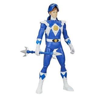 "Hasbro Power Rangers: Mighty Morphin Blue Ranger (Unmasked)  12"" Figure"