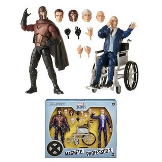 "Hasbro Marvel Legends: Professor X and Magneto X-Men Movie 6"" Figure 2-Pack"