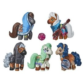 Hasbro My Little Pony x Dungeons and Dragons: Cutie Marks and Dragons Figures Crossover Collection
