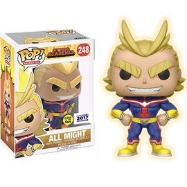 Funko My Hero Academia: All Might Glow in the Dark Funimation Exclusive Funko POP! # (Damaged)