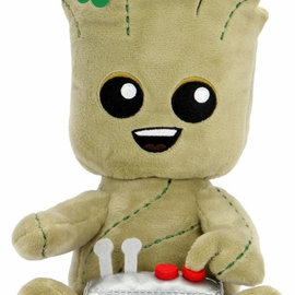 Kidrobot Guardians of the Galaxy: Groot with Button Small Plush