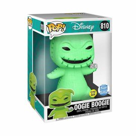 "Funko Nightmare Before Christmas: Oogie Boogie Glow In The Dark Funko Shop Exclusive 10"" Funko POP! #810"