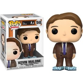 Funko The Office: Kevin Malone with Tissue Box Shoes Box Lunch Exclusive Funko POP! #1048