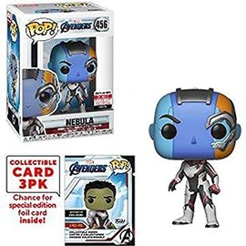 Funko Avengers Endgame: Nebula Entertainment Earth Exclusive with Collector Cards Funko POP! #456