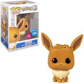 Funko Pokemon: Eevee Flocked Wondrous Convention Exclusive Funko POP! #577