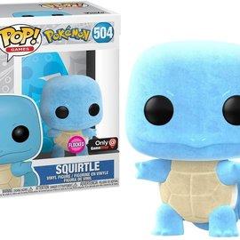 Funko Pokemon: Squirtle Flocked Gamestop Exclusive Funko POP! #504