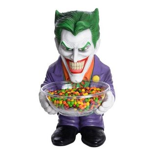 Rubies' Costume Co. Batman: The Joker Candy Bowl Holder