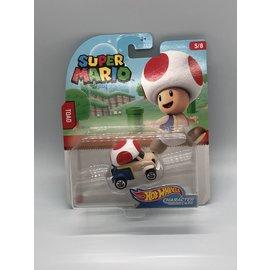 Mattel Super Mario Bros: Toad Hot Wheels Car