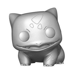 Funko Pokemon: Bulbasaur (Silver/Metallic) Funko POP! PREORDER