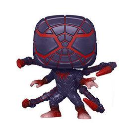 Funko Spider-Man Gamer Verse: Miles Morales (Programmable Matter Suit) Metallic Funko POP! PREORDER