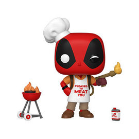 Funko Deadpool 30th Anniversary: Backyard Griller Deadpool Funko POP! PREORDER