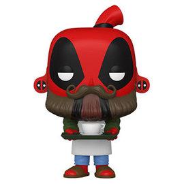 Funko Deadpool 30th Anniversary: Coffee Barista Deadpool Funko POP! #775