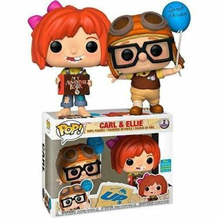 Funko UP!: Carl and Ellie 2019 Summer Convention Limited Edition Exclusive Funko POP! 2-Pack