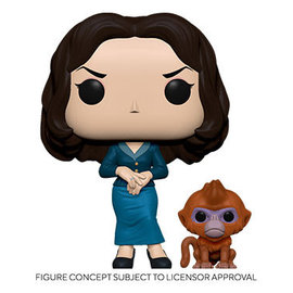 Funko His Dark Materials: Mrs. Coulter w/ Daem Funko POP! PREORDER