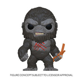 Funko Godzilla Vs Kong: Battle Scarred Kong Funko POP! PREORDER