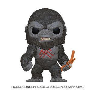 Funko Godzilla Vs Kong: Battle Scarred Kong Funko POP! PREORDER