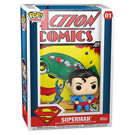 Funko DC Comic Cover: Superman Action Comic