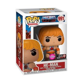 Funko Masters of the Universe: He-Man Flocked Funko Insider Club Exclusive Funko POP! #991
