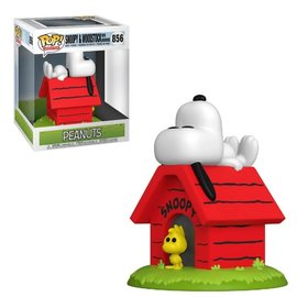 Funko Peanuts: Snoopy and Woodstock with Doghouse Funko POP! #856