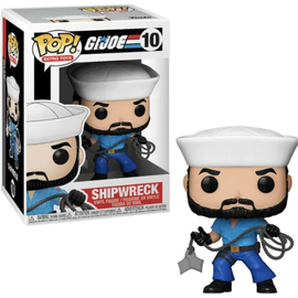 Funko Retro Toys: G.I. Joe's Shipwreck Funko POP! #10