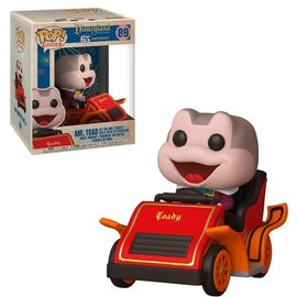 Funko Disney: Mr. Toad at the Mr. Toad's Wild Ride Attraction Funko POP! Ride #89