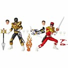 Hasbro Power Rangers Lightning Collection: Red Ranger and Zeo Gold Ranger SDCC Exclusive 2 Pack (Not Mint but still sealed Box)