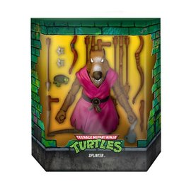 "Super 7 Teenage Mutant Ninja Turtles: Splinter Ultimates 7"" Figure (Version 2 Variant) (PREORDER)"