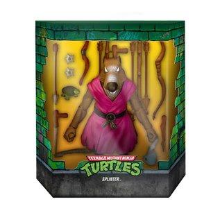 """Super 7 Teenage Mutant Ninja Turtles: Splinter Ultimates 7"""" Figure (Version 2 Variant)"""